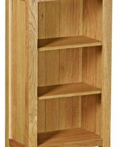 Bergerac Petite Oak mini bookcase-0