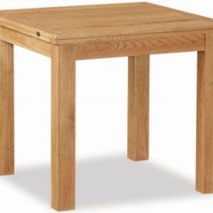 Bergerac Petite Oak flip over table-0
