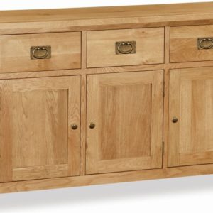 Bergerac Petite Oak large sideboard-0
