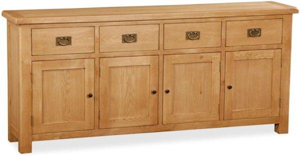 Bergerac Oak extra large sideboard-0