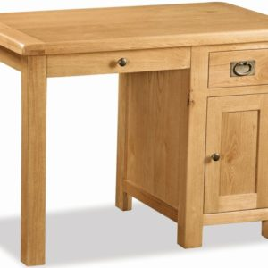 Bergerac Oak single desk-0
