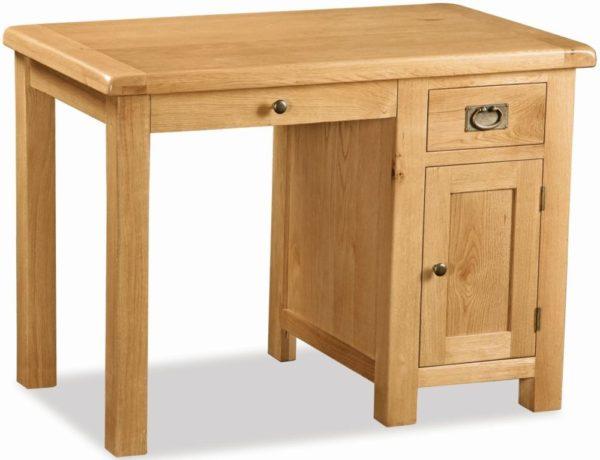 Bergerac Oak single desk-0