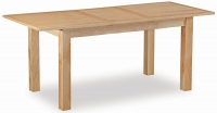 Trinity Petite Oak compact extending dining table-0