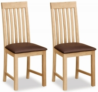 Trinity Petite Oak dining chair-0
