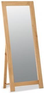Bergerac Oak cheval mirror-0