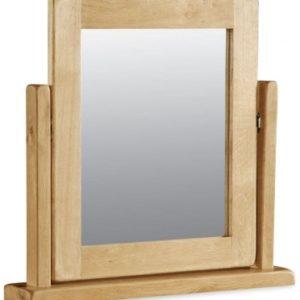 Bergerac Oak vanity mirror-0