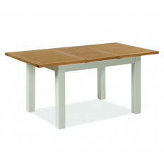 Devon Oak compact extending dining table-0