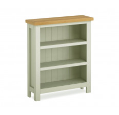 Devon Oak low bookcase-0