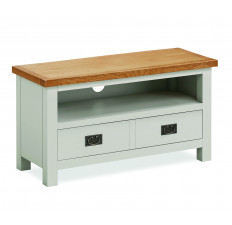 Devon Oak small TV unit-0