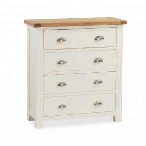 Suffolk Painted 5 drawer chest-0