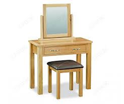 Trinity Petite Oak dressing table set-0