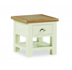 Suffolk Painted lamp table-0