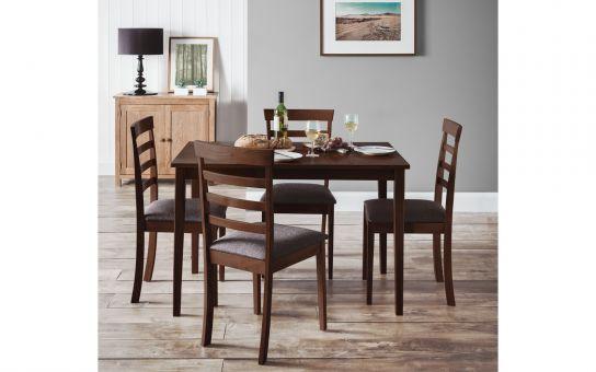 Cleo mahogany dining set-0