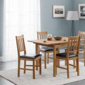 Coxmoor Oak extending dining set-0