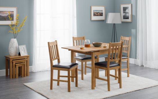 Coxmoor Oak extending dining set-0