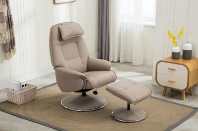 Avant Garde recliner with FREE stool-3759