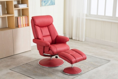 Biarritz recliner with FREE stool-3767