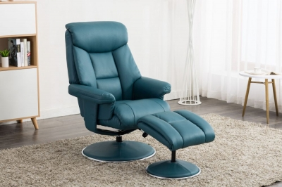 Biarritz recliner with FREE stool-3768