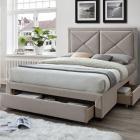 Quartz 3 drawer bedframe-0