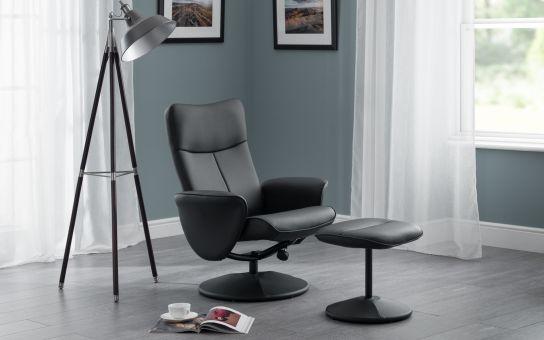 Lugano swivel & recline chair-0
