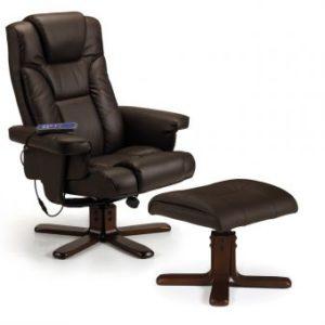 Malaga massage swivel and recline chair -0