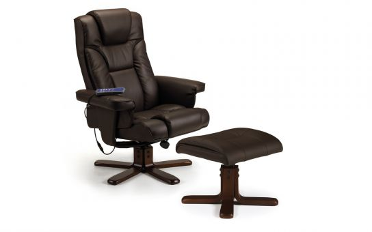 Malaga massage swivel and recline chair -0