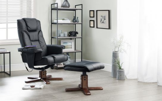 Malaga massage swivel and recline chair -3747