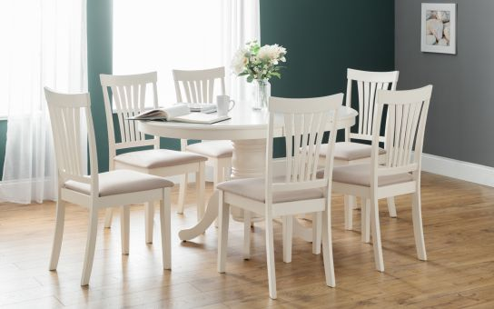 Stacey oval extending dining set-0