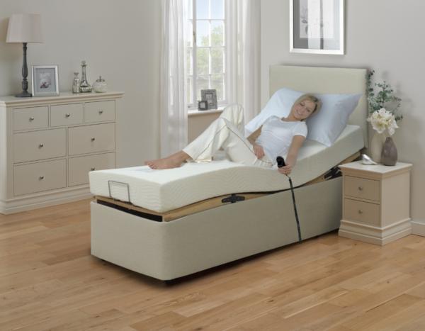 Cool Gel Lux 3' adjustable bed-0