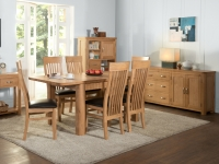 Treviso Oak large dining set-0
