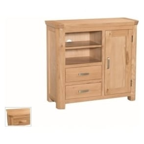 Treviso Oak media unit-0