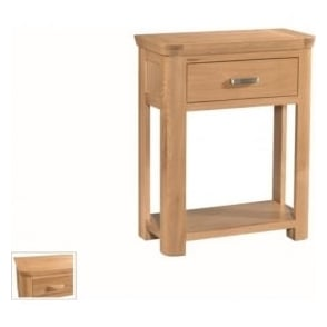 Treviso Oak small console table-0