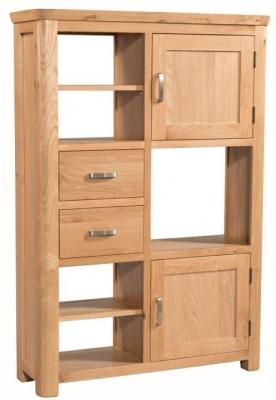 Treviso Oak high display unit-0