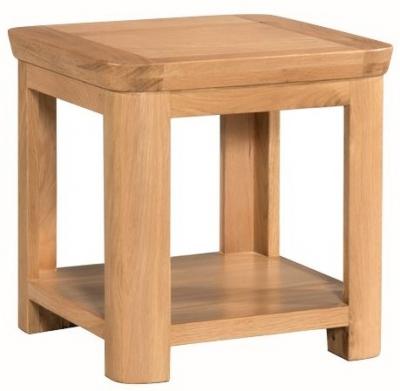 Treviso Oak lamp table -0