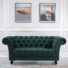 Chesterfield 2 seater sofa-4059