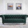 Chesterfield 3 seater sofa-4066