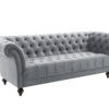 Chesterfield 3 seater sofa-4067