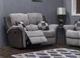 Roberto reclining 2 seater sofa-4052