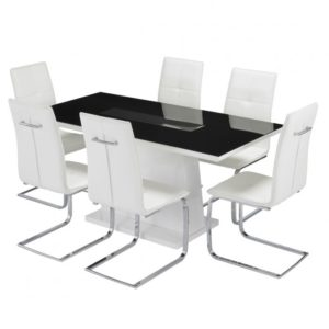 Matrix LED dining set-0