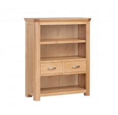 Treviso Oak low bookcase-0