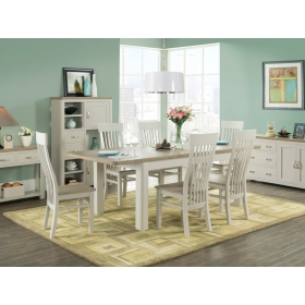 Treviso Painted extra large dining set-0