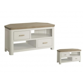Treviso Painted corner TV unit-0