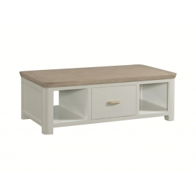 Treviso Painted large coffee table with drawer-0