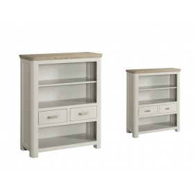 Treviso Painted low bookcase-0