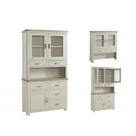 Treviso Painted small buffet hutch-0