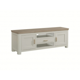 Treviso Painted wide TV unit-0