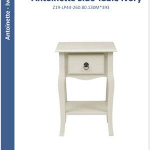Antoinette PAIR side tables ivory-0
