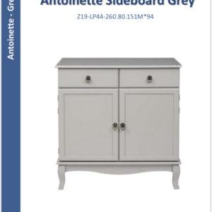 Antoinette sideboard grey-0