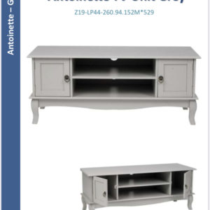 Antoinette TV unit grey-0